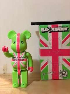 Bearbrick England Dreaming 400% (90% New)