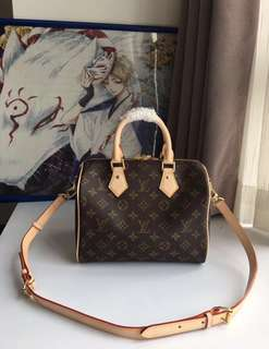 speedy 25 lv bag with sling