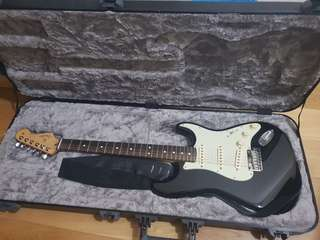 Original Fender Stratocaster with Marshall Amplifier