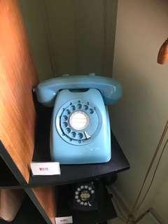 Blue Japan vintage telephone