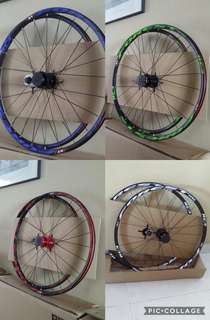 RT RC3 Forest Pro Wheelset for Mountain Bicycles with 120 engagement