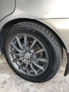 Rim enkei limited , ralliart version