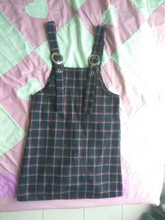 Two Piece Pinafore Dungaree