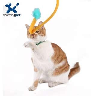 。美國 Charming Pet SnapCat 瘋狂跳跳鬥貓棒。