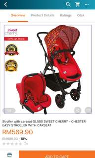 Baby Stroller GL500 Vetro