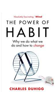 ~IN STOCK~ BN Power of Habit - Why We Do What We Do and How to Change by Charles Duhigg
