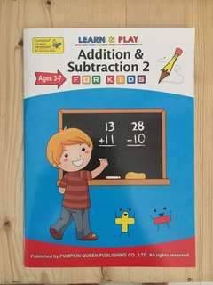 Learn & Play :Addition & Subtraction 2 by Pumpkin Queen Publishing