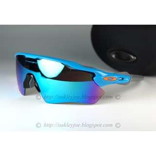 Brand New Oakley Custom Radar EV sky blue + sapphire iridium
