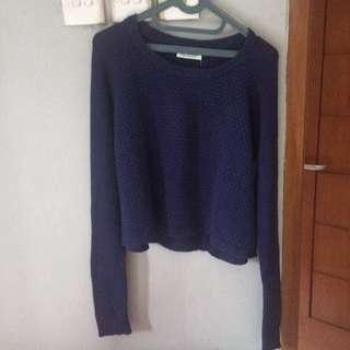 crop top sweater stradivarius