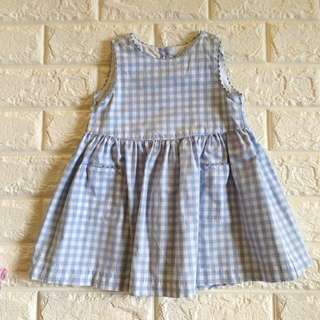Baby gap gingham dress