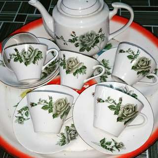 Set Tea Era 60an