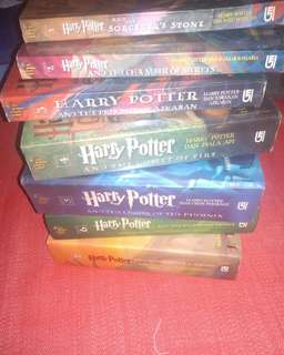 Harry Potter Novel 1-7 FREE ONGKIR JABODETABEK