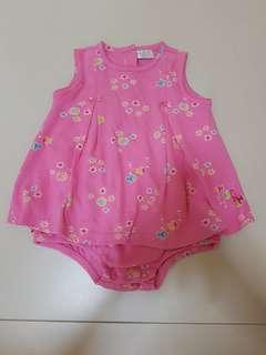 Carters baby girl romper dress