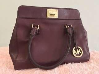 MK Maroon handbag