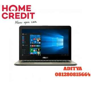 Kredit Laptop Asus X441BA AMD A9 Proses 3 Menit