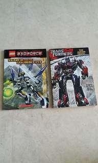 Transformers storybooks