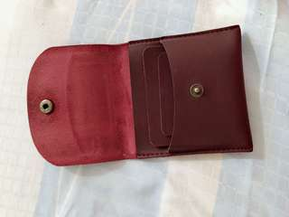 Sunflower wallet, maroon colour, small size