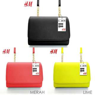 H&M MINI CLUTCH💫