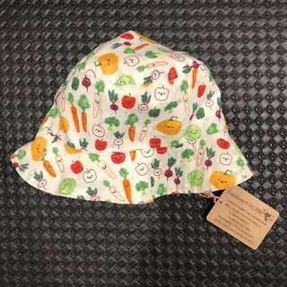 手作寶寶帽子 夏日帽 遮陽帽
