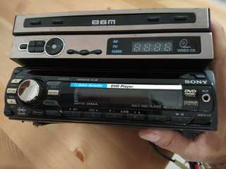 Sony Xplod DVD player Stereo Set with Amplifier