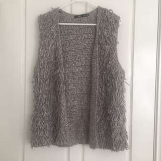 Sportsgirl Grey Wooly Vest