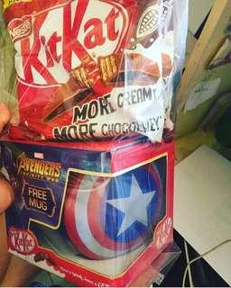Kitkat 24' s w/ free mug