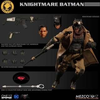 Mezco one 12 Knightmare Batman 惡夢蝙蝠俠