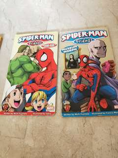 Spiderman books