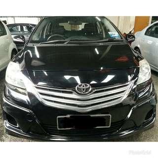 Toyota Vios 1.5(A)J**rebate cash 90%**