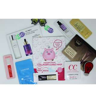 Korean Skincare & Cosmetics Bundle #8