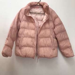 Uniqlo Puffer Jacket Pink