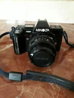 analog camera Minolta 7000 hobbies only!