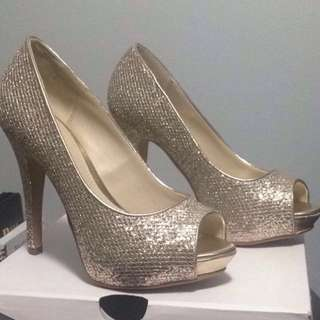 Champagne Coloured Heels