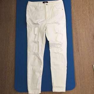 Dotti women white Denim jeans