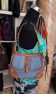 Authentic Sisley Shoulder Bag(S)