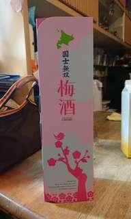 北海道 國士無雙 梅酒 720ml
