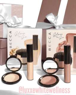 Glow on the go kit Becca ON HAND ON HAND !!