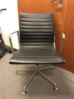Designer Eames Leather Office / Meeting Chair