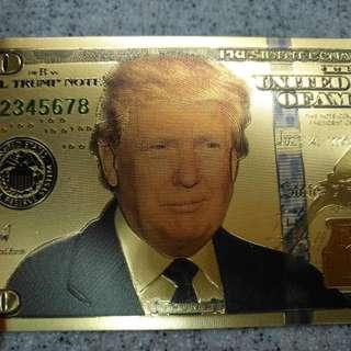 趣味品--美國總統觀賞鈔(非流通)