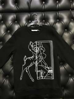 🆕 Authentic GIVENCHY BAMBI Sweater