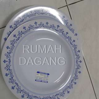 CUCI GUDANG PIRING MAKAN ONYX COLLECTION 9''