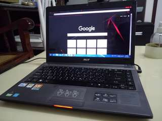 Acer Thin 14.5inch/Win7/320Gb Hdd