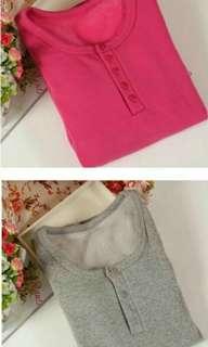 ✈ Brand new thermal tops & leggings (with inner fleece) for your travel!