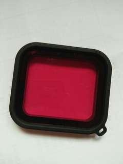 Red filter Hero 5 Black