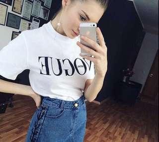 White Tshirt Vogue