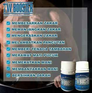 TW BOOSTER FOR MEN AND WOMAN ... THE BEST PRODUCT ..