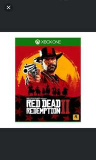 Xbox One Red Dead Redemption 2 Pre-order 26/10/18