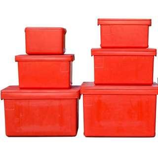 cooler ice box fish box plastic container