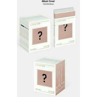 WANNA ONE [1÷x=1 (UNDIVIDED)] With LIMITED POSTER