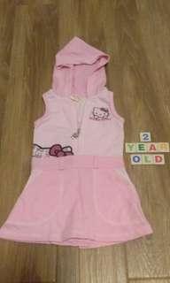 Hello kitty hoodie dress